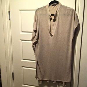 Zara flowy dress!